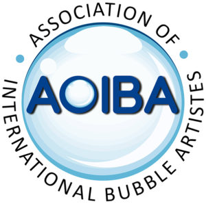 Member of Association of International Bubble Artistes